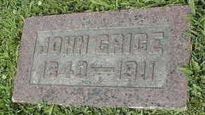 GRICE, JOHN - Jackson County, Iowa   JOHN GRICE