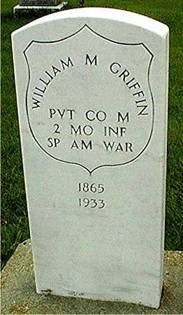 GRIFFIN, WILLIAM M, - Jackson County, Iowa   WILLIAM M, GRIFFIN