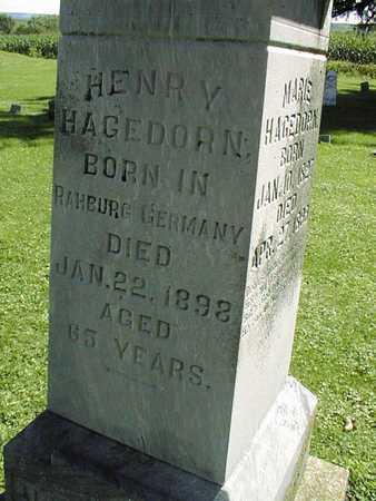 HAGEDORN, HENRY - Jackson County, Iowa | HENRY HAGEDORN
