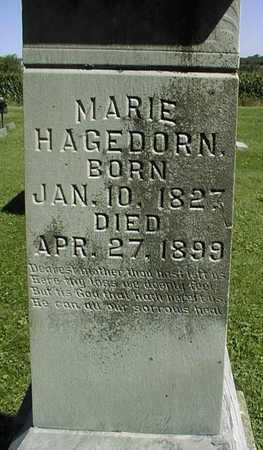HAGEDORN, MARIE - Jackson County, Iowa | MARIE HAGEDORN