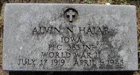 HAIAR, ALVIN N. - Jackson County, Iowa   ALVIN N. HAIAR