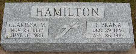 HAMILTON, J. FRANK - Jackson County, Iowa | J. FRANK HAMILTON