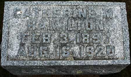 HAMILTON, CATHERINE M. - Jackson County, Iowa | CATHERINE M. HAMILTON