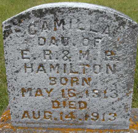 HAMILTON, CAMILLA - Jackson County, Iowa   CAMILLA HAMILTON