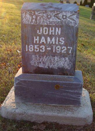 HAMIS, JOHN - Jackson County, Iowa | JOHN HAMIS