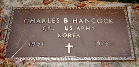 HANCOCK, CHARLES B. - Jackson County, Iowa   CHARLES B. HANCOCK
