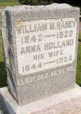 HANEY, ANNA - Jackson County, Iowa   ANNA HANEY