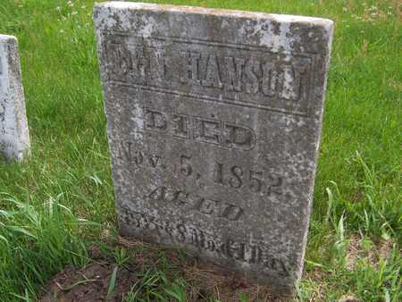 HANSON, BEN - Jackson County, Iowa | BEN HANSON