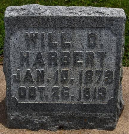 HARBERT, WILL D. - Jackson County, Iowa   WILL D. HARBERT