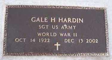HARDIN, GALE H. - Jackson County, Iowa | GALE H. HARDIN