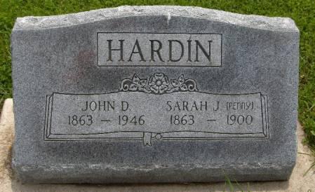 HARDIN, JOHN D. - Jackson County, Iowa | JOHN D. HARDIN