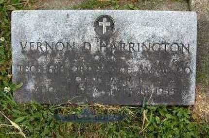 HARRINGTON, VERNON D. - Jackson County, Iowa   VERNON D. HARRINGTON