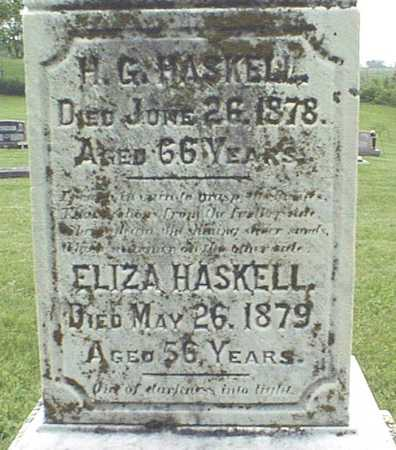 HASKELL, H.G. - Jackson County, Iowa | H.G. HASKELL