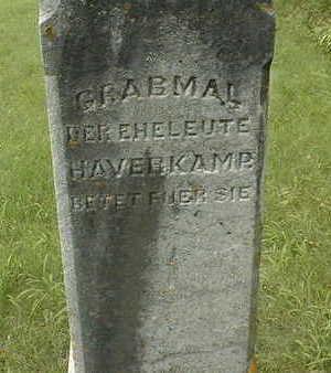 HAVERKAMP, GRABMAL - Jackson County, Iowa | GRABMAL HAVERKAMP