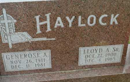 HAYLOCK, GENEROSE A. - Jackson County, Iowa | GENEROSE A. HAYLOCK