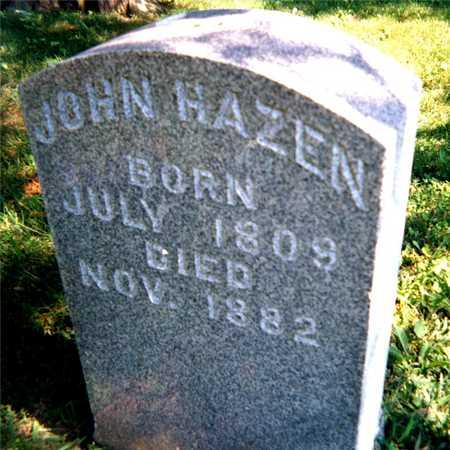HAZEN, JOHN - Jackson County, Iowa   JOHN HAZEN