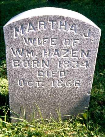 HAZEN, MARTHA J. - Jackson County, Iowa | MARTHA J. HAZEN