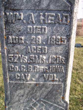 HEAD, WILLIAM A. - Jackson County, Iowa | WILLIAM A. HEAD