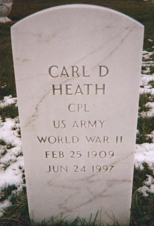 HEATH, CARL D. - Jackson County, Iowa | CARL D. HEATH