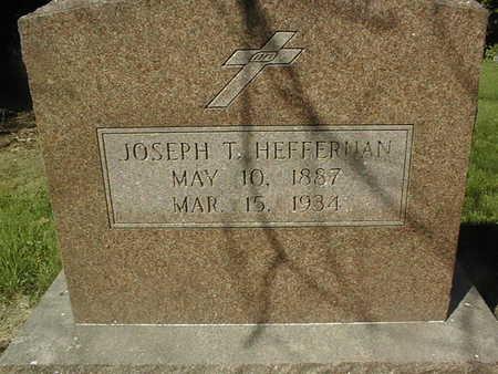 HEFFERMAN, JOSEPH T. - Jackson County, Iowa   JOSEPH T. HEFFERMAN