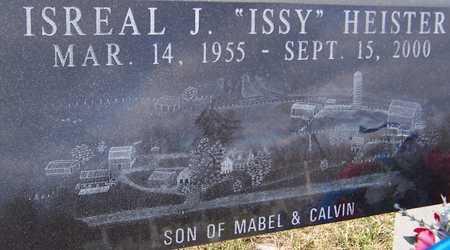 HEISTER, ISRAEL J. - Jackson County, Iowa | ISRAEL J. HEISTER