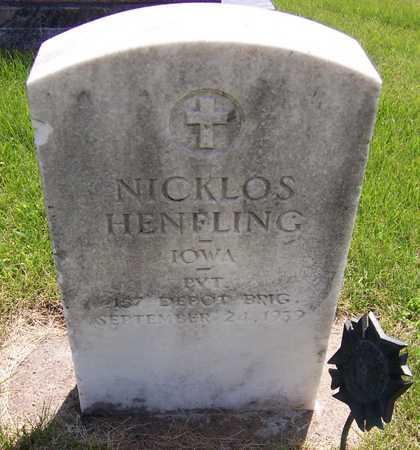 HENFLING, NICKLOS - Jackson County, Iowa | NICKLOS HENFLING