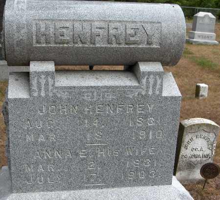 HENFREY, JOHN - Jackson County, Iowa | JOHN HENFREY