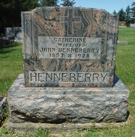 HANNIFAN HENNEBERRY, CATHERINE - Jackson County, Iowa | CATHERINE HANNIFAN HENNEBERRY