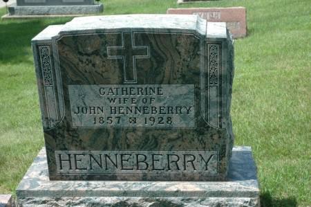 HENNEBERRY, CATHERINE - Jackson County, Iowa   CATHERINE HENNEBERRY
