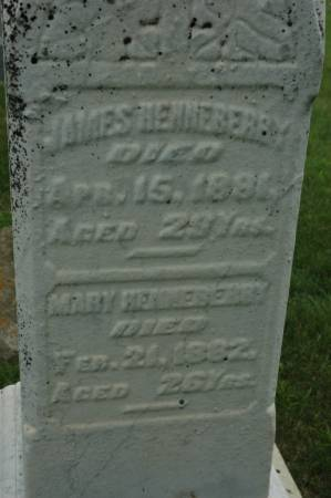 HENNEBERRY, MARY - Jackson County, Iowa | MARY HENNEBERRY