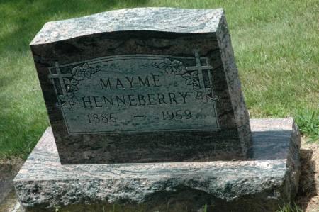 HENNEBERRY, MAYME - Jackson County, Iowa | MAYME HENNEBERRY