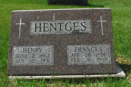 HENTGES, HENRY - Jackson County, Iowa | HENRY HENTGES