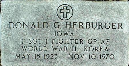 HERBURGER, DONALD G. - Jackson County, Iowa | DONALD G. HERBURGER