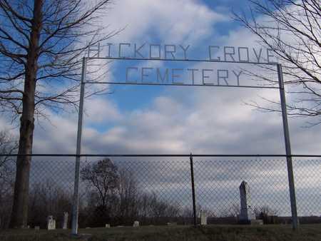 HICKORY GROVE, CEMETERY - Jackson County, Iowa   CEMETERY HICKORY GROVE