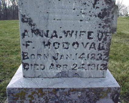 HODOVAL, ANNA - Jackson County, Iowa | ANNA HODOVAL