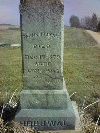 HODOWAL, FRANK - Jackson County, Iowa | FRANK HODOWAL