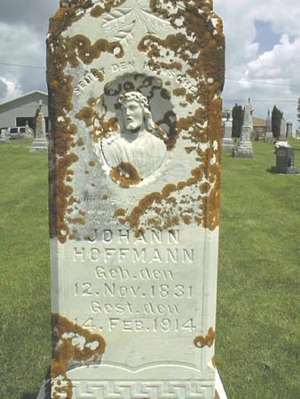 HOFFMANN, JOHANN - Jackson County, Iowa   JOHANN HOFFMANN