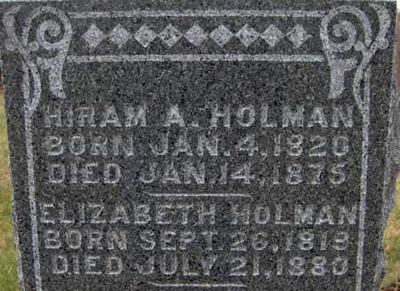 HOLMAN, ELIZABETH - Jackson County, Iowa | ELIZABETH HOLMAN