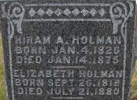 HOLMAN, HIRAM A. - Jackson County, Iowa | HIRAM A. HOLMAN