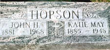 HOPSON, KATIE MAY - Jackson County, Iowa | KATIE MAY HOPSON