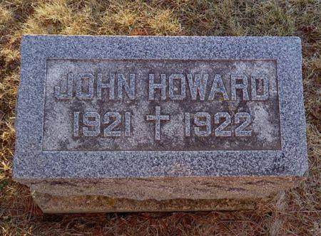 HOWARD, JOHN - Jackson County, Iowa | JOHN HOWARD