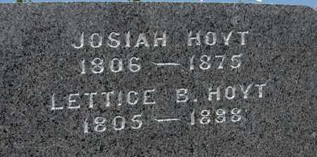HOYT, LETTICE B. - Jackson County, Iowa   LETTICE B. HOYT