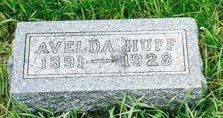 TOEDT HUFF, AVELDA E. - Jackson County, Iowa | AVELDA E. TOEDT HUFF