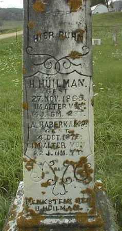 HUILMAN, H. - Jackson County, Iowa | H. HUILMAN