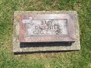 HUTE, BABY DAUGHTER - Jackson County, Iowa | BABY DAUGHTER HUTE