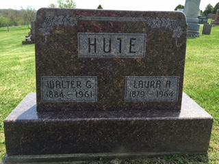 HUTE, LAURA A - Jackson County, Iowa | LAURA A HUTE