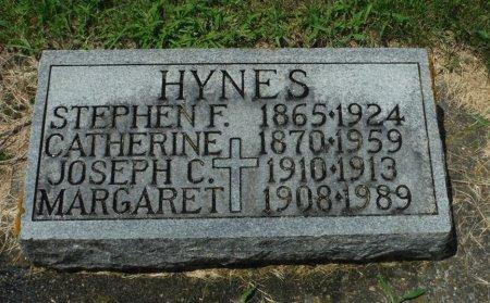 HYNES, CATHERINE - Jackson County, Iowa   CATHERINE HYNES