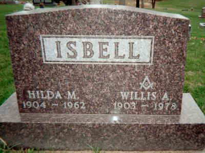 ISBELL, WILLIS A. - Jackson County, Iowa | WILLIS A. ISBELL
