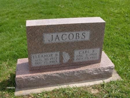 JACOBS, ELEANOR B. - Jackson County, Iowa | ELEANOR B. JACOBS