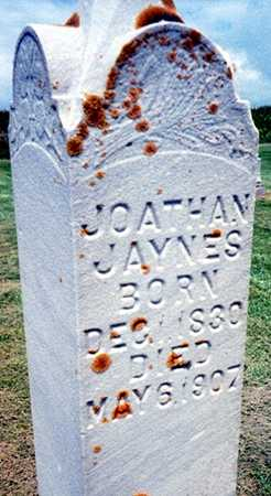 JAYNES, JONATHAN - Jackson County, Iowa | JONATHAN JAYNES